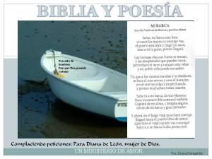 Poesía Mi Barca