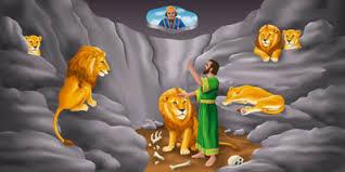 daniel el rey dario lo fue a ver