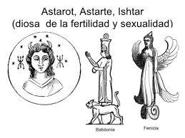 Astarte diosa de Jezabel